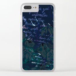 """Conquest of the Useless"" by Werner Herzog Print (v. 11) Clear iPhone Case"