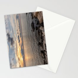 Sunset over the Ocean 7-21-18 Stationery Cards