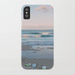 Sunset surf iPhone Case