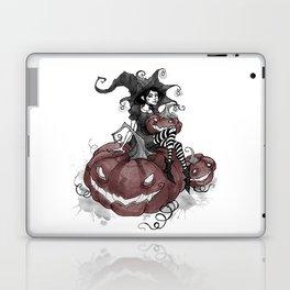 Inktober Jack-o-lantern Laptop & iPad Skin