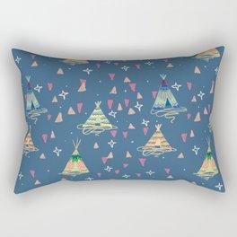 teepees Rectangular Pillow