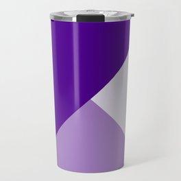 Trinity Color Block Purple 4E008E Travel Mug