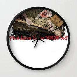 What Lives Under YOUR bed? Wall Clock