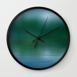 By The Riverbend Wall Clock