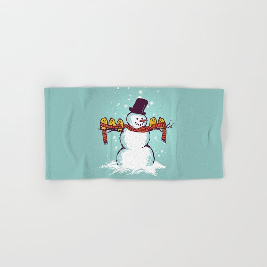 Sharing is caring (Winter edition) Hand & Bath Towel