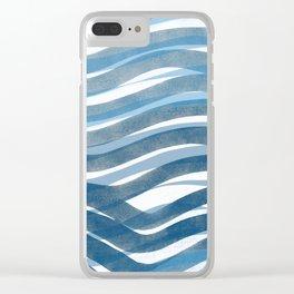 Ocean's Skin Clear iPhone Case