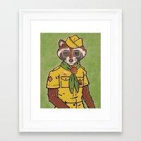 sam smith Framed Art Prints featuring Sam by Derek Eads