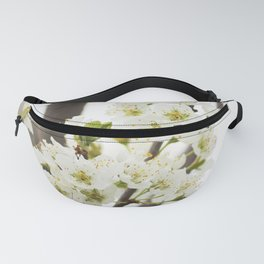 Plum Tree Blossom Fanny Pack
