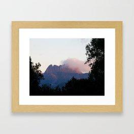 Cradle Mountain Sunrise Framed Art Print
