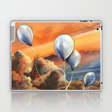 Balloons in the Sunset Laptop & iPad Skin