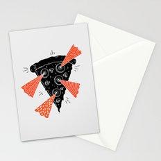 Lazer Pizza Stationery Cards