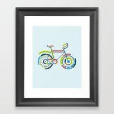 Bicyrcle Framed Art Print