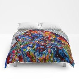YIN YANG WORDS #society6 #decor #buyart Comforters