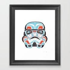 Skull Warrior - Alliance Is Rebellion - Stormtrooper,  Framed Art Print