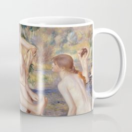 Les Grandes Baigneuses (The Large Bathers) by Auguste Renoir Coffee Mug