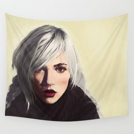 indiana girl Wall Tapestry