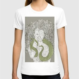Snake and Sprite: Green T-shirt