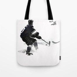 The Deke - Hockey Player Tote Bag