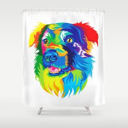 The Dog Shower Curtain