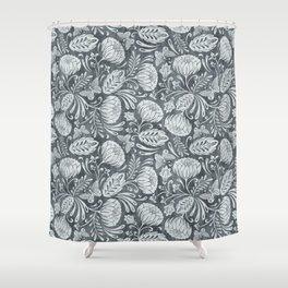 Arabella - Steel Shower Curtain