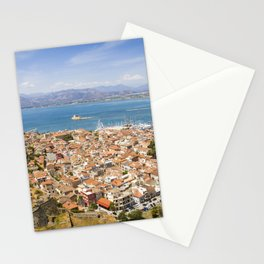 Nafplio from above Stationery Cards