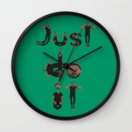 Shia Lebouf - Just Do It Wall Clock