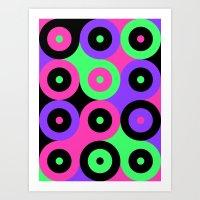 Boink Balls Art Print