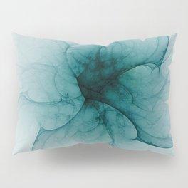 Dark Flower Fractal Pillow Sham