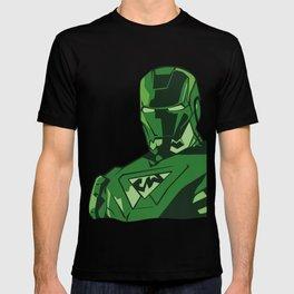 saudi iron man T-shirt