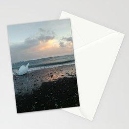 Diamond Beach at Sunset- Iceland Stationery Cards