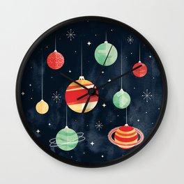 Joy to the Universe Wall Clock