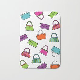 Purse Fun Bath Mat
