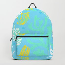 neon funny underwater plants Backpack