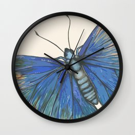 Butterfly - Geometric Abstract Wall Clock