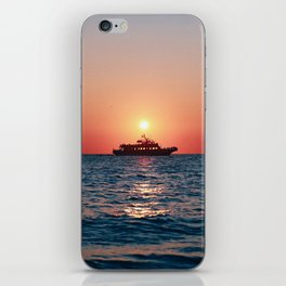 Cape May Sunset Cruise iPhone Skin