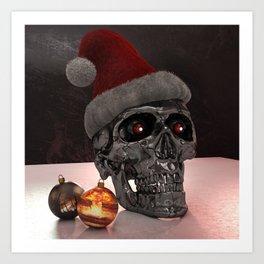 T-Xmas (The Christmasnator) Art Print