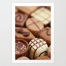 Belgium Chocolates Art Print