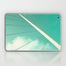 Look Up (Retro and Vintage Urban, architecture photography) Laptop & iPad Skin