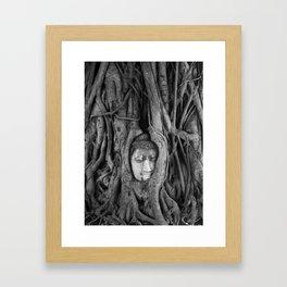 its complicated - vine buddha Framed Art Print
