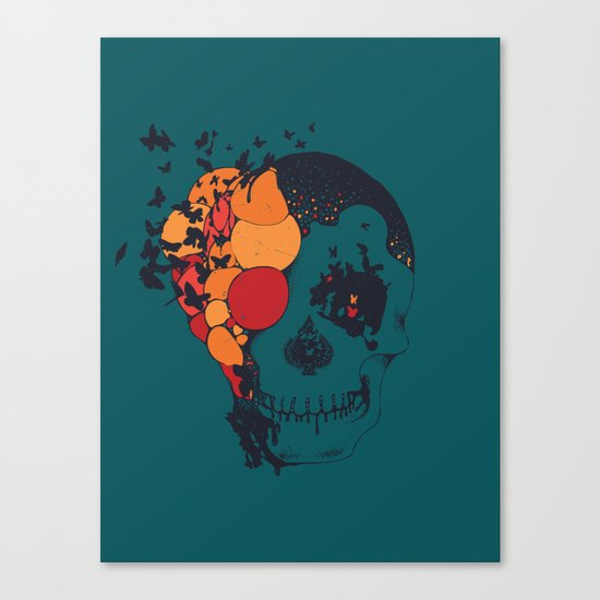 Beautiful Decay Canvas Print