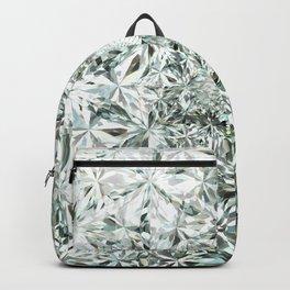 White Diamond Abstract Art Pattern 02 Backpack