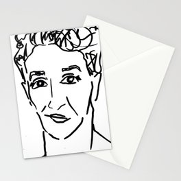 Rachel Maddow Outline Stationery Cards
