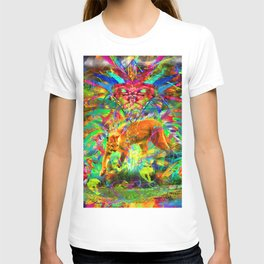 The Laser Focus of Couger Conciousness T-shirt