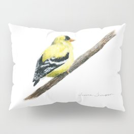"""""""Little Goldie"""" painting by Teresa Thompson Pillow Sham"""