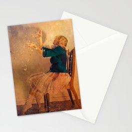 La chaise - Vent de printemps Stationery Cards