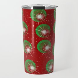 Sparkly Christmas Balls Travel Mug