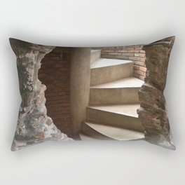 Hidden and Revealed Stairs Rectangular Pillow