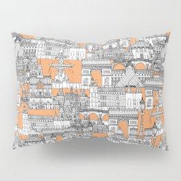 Paris toile cantaloupe Pillow Sham