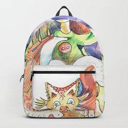 RB.Cat Clown & Friend Backpack