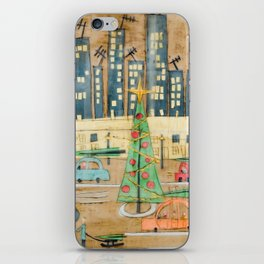 Driving Home for Christmas iPhone Skin